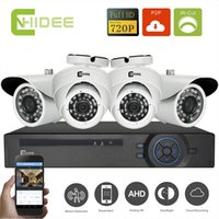 Wholesale Deecam AHD P CH CCTV DVR System DVR Outdoor Home Security Camera System HD Outdoor Night Vision P CH Surveillance Kits