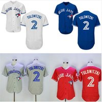 american roads - Toronto Blue Jays Troy Tulowitzki White GRAY Blue Red Home Road Wholesales Cheap American baseball jerseys Embroidery Logo Mix Order
