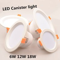 aluminum canisters - LED Canister Light Circular Lamp W W W Warm White Product Parameters Voltage AC85 V High Power LED Lights