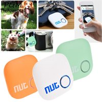Wholesale 2016 Nut Smart Finder Bluetooth Tracking New Design Smart Tracker Bag Key Finder Locator Alarm for iphone Android Colors