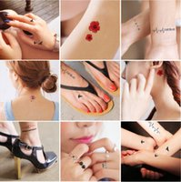 face stickers - waterproof temporary tattoo Sexy Tattoo Paste Fashion Women High Quality Tattoo Stickers Body Art Temporary Tattoos TA002