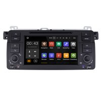 Wholesale Car Radio Bmw E46 Android - Joyous Android 5.1.1 System 1024*600 Single DIN Car DVD For BMW E46 M3 1999-2005 Radio Stereo GPS Navi WIFI 3G