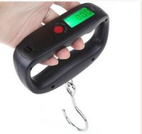 balance belt - Durable Pocket Portable kg g LCD Digital Electronic Hand Held Hook Belt Lage Hanging Scale Backlight Balance Weighing