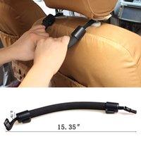 Wholesale Multifunction Car Seats Grip Handle Safety Car Chair Back Armrest Hanger Soft Holder Rear Seat Headrest Bag Hook