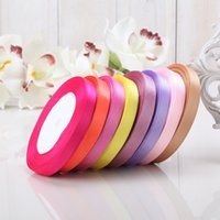 army back pack - Wedding Decorations Colors Solid Color roll yard CM single face satin ribbon yards roll option Color gift packing Wedding decor