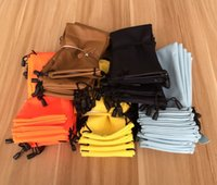 Wholesale New Sunglasses Glasses Gadgets Cleaning Storage Pouch Sample