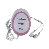 baby sounds doppler - Portable CE FDA Angelsounds Fetal Doppler Pocket ultrasound fetal heart monitor with earphone and USB cable record your baby sounds
