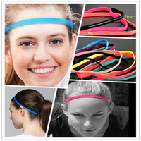 anti grey hair - Women Yoga Hair Bands Sports Headband Sport Anti slip Hairbands Rubber Hairband Fitness Men Football Running