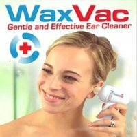 Wholesale 2016 Hot Fashion Electric Earpick Cleaner Ear Wax Remover Curette Ear Cleaner Tool WaxVac Ear Cleaner