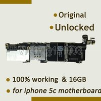 Wholesale For Iphone c Motherboard Mainboard GB Original GB Good Working Mainboard Full with Chips Unlocked Motherboard