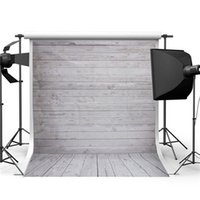 Wholesale 5x7ft Wood Wall Floor Studio Prop Photography Vinyl Background Photo Backdrop