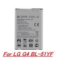 Wholesale BL YF High Quality Battery Cell Phone Battery For LG G4 Battery H818 H819 VS999 F500 F500S F500K F500L H81 BL YF Battery