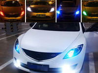 Wholesale 2X T10 W5W Interior Xenon White LED CANBUS SMD with Cree Lens Projector Aluminum Case bulbs