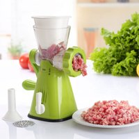 Wholesale Household Manual Stainless Steel Blade Multifunction Mincer Creative Kitchen Tools