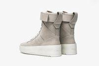 Wholesale Fear God Socks FEAR OF GOD shoes High Top Sneakers Black Suede Gum Grey Nubuck Boot Fog Jerry Lorenzo Kanye black Nylon BOOTS