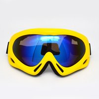 Wholesale Single Professional Ski Goggles Out Sports UV Protection Eyewear Bicycle Motorcycle glasses Anti fog Winter Eyeglasses Colors