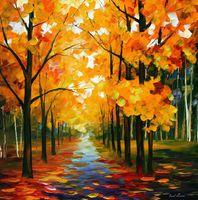artist reproduction canvas - Leonid Afremov decoration Palette knife oil painting path to wisdom famous artist reproduction