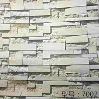 adhesive paper for fabric - 61cm cm brick D Wall covering Decor fabric stickers roll wallpaper furniture wood grain paper self adhesive