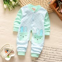 baby variety - 2016 new cartoon baby romper baby Onesies long sleeved climb clothes cotton Jumpsuit Yi Baobao M M baby Onesies multicolor variety