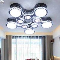 air continental - LED lamp modern minimalist living room lamp crystal lamp bedroom lamp creative circular Continental Air Ceiling Lights wwy