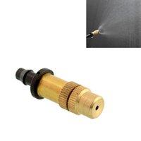 Wholesale Removable Adjustable Misting Nozzle Gardening Yard Watering Flower Brass nozzle Sprayer Sprinkler New