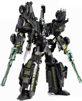 Wholesale black sixshot complete NO BOX about cm tall