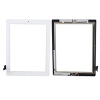 Wholesale Black White for iPad iPad Touch Screen Digitizer with Home Button Assembly Replacement Touch Digitizer