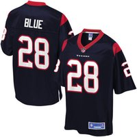 big number line - Mens Jersey Alfred Blue Pro Line Navy Big Tall Team Color Jersey Football Jerseys Stitched Name Number and Logos