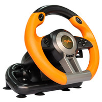 Wholesale Rise up Leichi II computer racing game steering wheel speed car driving simulation