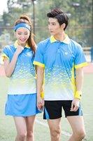Wholesale SNG Table Tennis T shirts Male Female badminton shirt badminton uniforms sports shirts pingpong Tshirt shirt