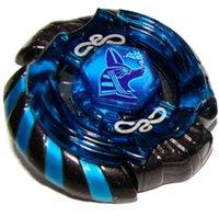 al por mayor anubius beyblade-Al por mayor-mejor regalo de cumpleaños 1pcs del metal de Beyblade Beyblade Metal Fusion Mercury Anubis (Anubius) Negro Azul Leyenda versión de edición limitada