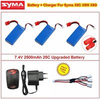 Wholesale New Upgraded V mAh C Battery Charger For Syma X8C X8W X8G X8HC X8HW X8HG RC Quadcopter