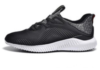 alpha boxes - With Box Alpha Bounce Boost Leopard Style Black Kanye West Sports Running Shoes for Men and Women Alphabounce Sneakers Size US