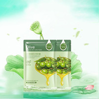 Wholesale Olives pomegranate blueberry honey Aloe vera face mask Korean facial mask sheet collagen Whitening Nourishing Moisturizing skin care