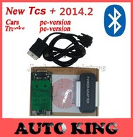 Cheap Wholesale-10pcs  Lot + DHL free ship ! Bluetooth funcion for black Tcs cdp pro on CARs+TRUCKs+Generic 3 in1,with 2016 r2 Software+Keygen!