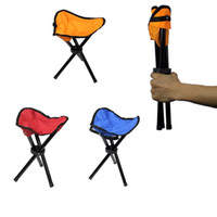 beach chairs aluminum - 20pcs Camping Folding Portable Chair Outdoor Waterproof Foldable Aluminum Alloy Tube For Fishing Beach Hiking Picnic Wholeasle ZA0863