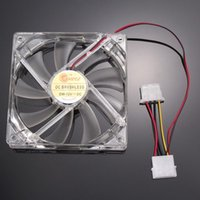 Wholesale 120mm Fans LED LED Blue Computer Case Cooling Hot Sale High Quality