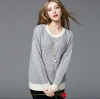 Wholesale Loose knit sweater hedging