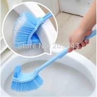 Wholesale Double side thicken and Long handle two sides toilet cleaner toilet brush