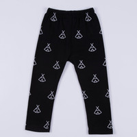 baby teepee - INS baby pants new children teepee printed PP pants boys girls leisure pants toddlers kids cotton pants A8710