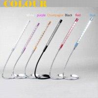 Wholesale USB Light Aluminum housing LED lamps Bright Soft Light Flexible Six Colors For PC Laptop Desktop Computer