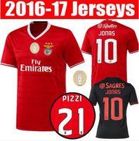 benfica soccer shirts - Benfica Soccer Jersey Sport Lisboa e Benfica Home camisas LUISAO SAMARIS Away Kits NICO GAITAN SALVIO Football Shirts Maillot Kit
