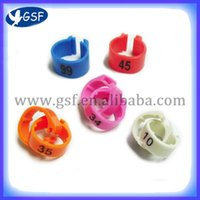 Wholesale open clip good quality pigeon ring for homing racing pigeon bird