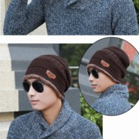 Wholesale Wholesales men Sports multiColors Unisex add woolen thicken Winter Warm hats Stretch Beanie acrylic hiphop style knitting caps