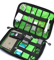 Wholesale On Sale Waterproof Cable Organizer Hard Drive Case Bag Travel Storage Bag for Electronics Cables Accessories Hard Drive Case