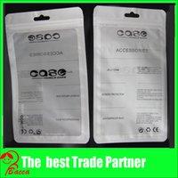 achat en gros de pvc bag-12 * 21cm Zip blanc verrouiller mobile accessoires de téléphone cas écouteur achats sac d'emballage OPP sac PP PVC Poly d'emballage en plastique