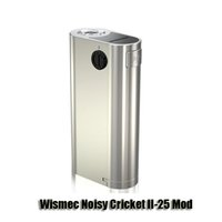 battery for cricket - Authentic Wismec Noisy Cricket II Mod Battery Noisy Cricket Mod for thread atomizer
