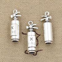 antique fire extinguishers - Cents Charms fire extinguisher fireman mm Antique Making pendant fit Vintage Tibetan Silver DIY bracelet necklace