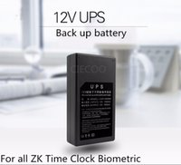 Wholesale mini high qulality power adaptor battery suitable for ZK software time attendance access control machine