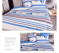 aqua clean - Sailing dream skincare bedroom set health cotton duvet covers sets breath